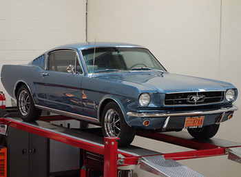 1965 mustang fastback 2+2 pro touring resto-mod for sale