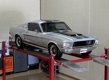 1967 ford mustang fastback resto-mod for sale