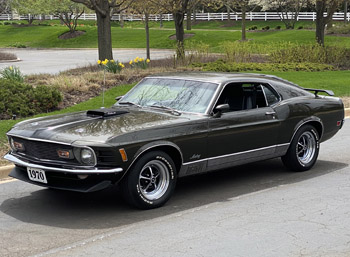 1970 Mustang Mach 1 428 Cobra Jet For Sale