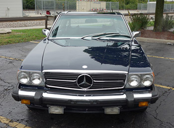 1975 mercedes 450 sl for sale